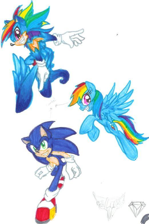 Super Sonic Rainbow DASH By DgShadowChocolate On DeviantArt