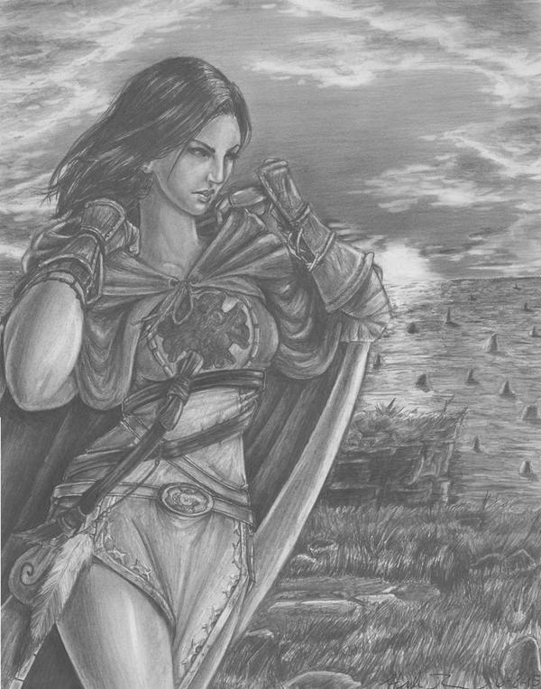 Emerald Herald - Dark Souls by Farallan