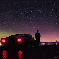 Retrowave Nights by tonyskeor
