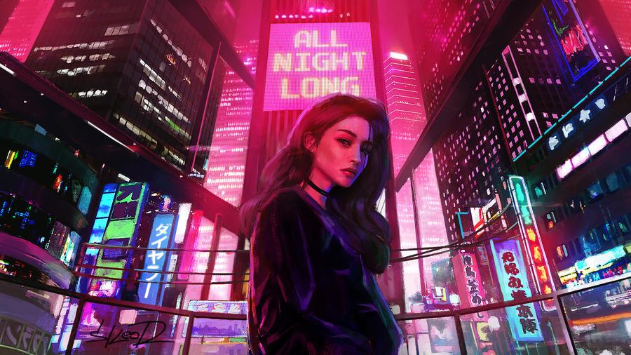 All Night Long by tonyskeor