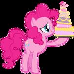 Sad Pinkie with Cake