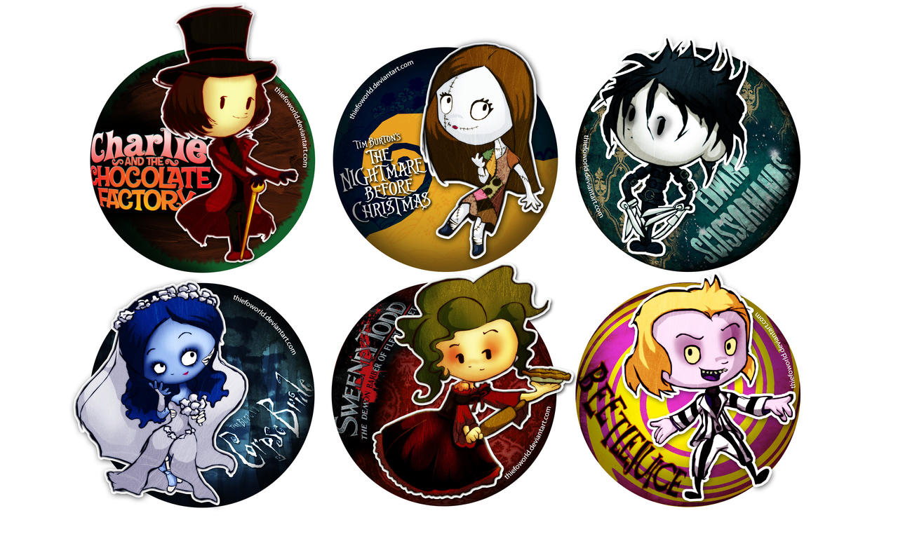 Tim Burton Tributes by Thiefoworld