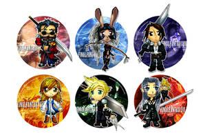 Final Fantasy Tributes Vol I by Thiefoworld