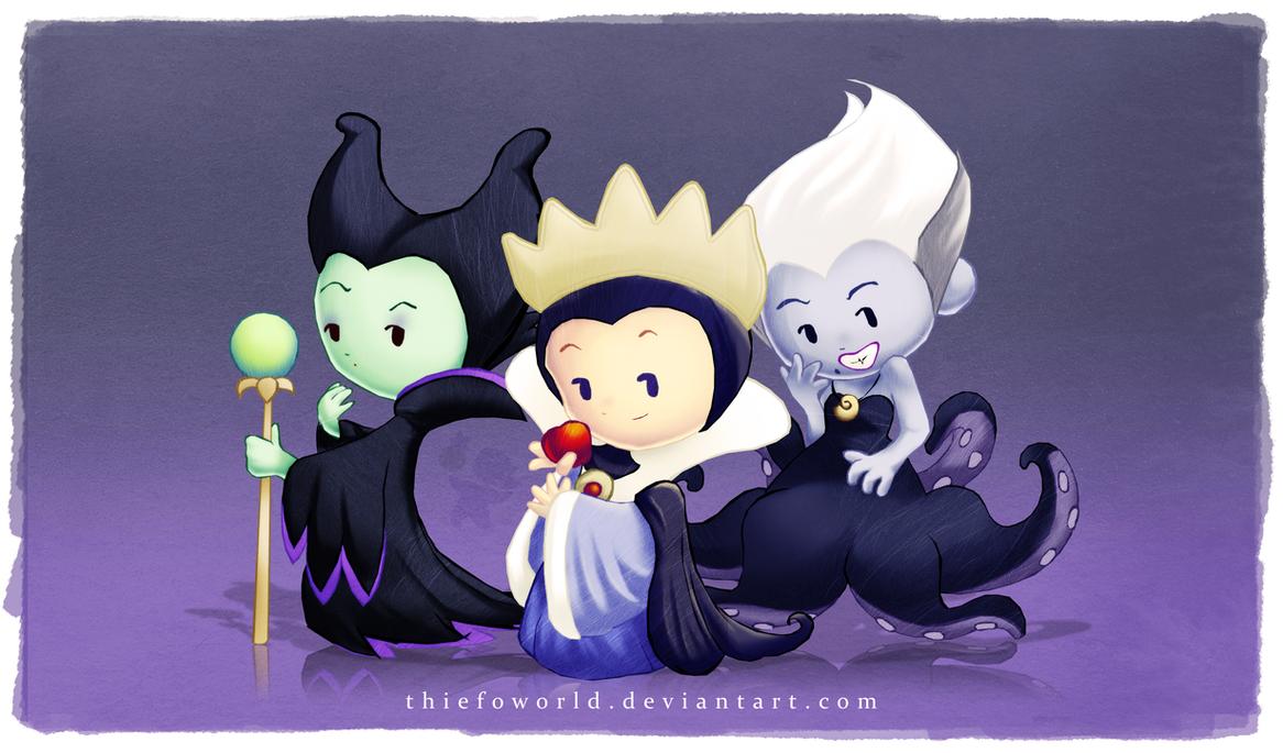 Disney Villains 1 by Thiefoworld