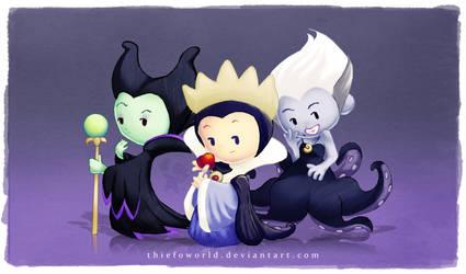 Disney Villains 1