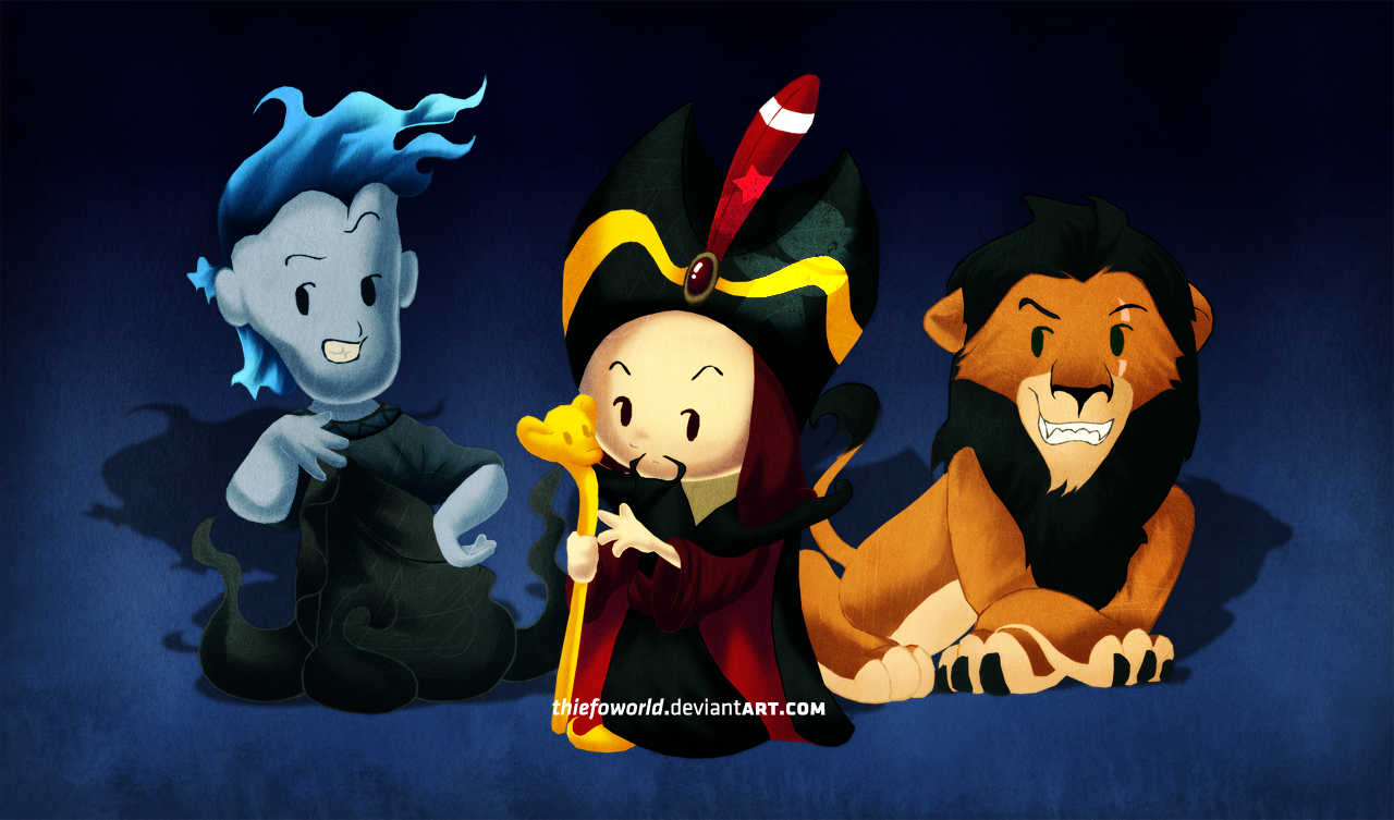 Disney Villains 2 by Thiefoworld