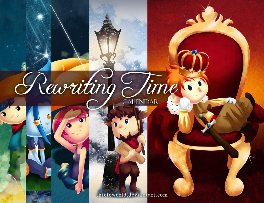 Rewriting Time Calendar by Thiefoworld