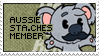 The Aussie Sta.che Team Stamp by Thiefoworld