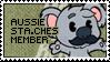 The Aussie Sta.che Team Stamp by Thiefoworld