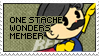 One Stache Wonders Stamp by Thiefoworld