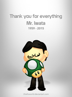 Thank you Mr. Iwata by Thiefoworld