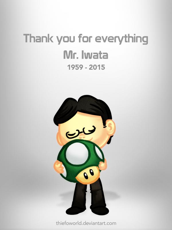 Thank you Mr. Iwata by Thiefoworld