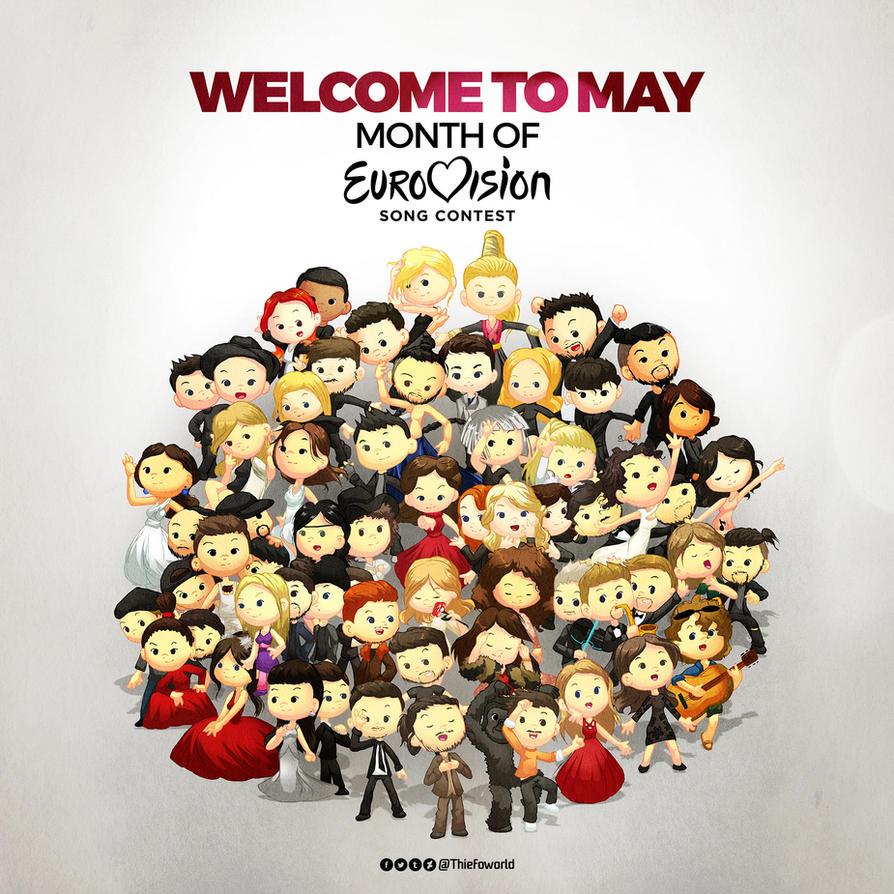 Eurovision 2017 by Thiefoworld