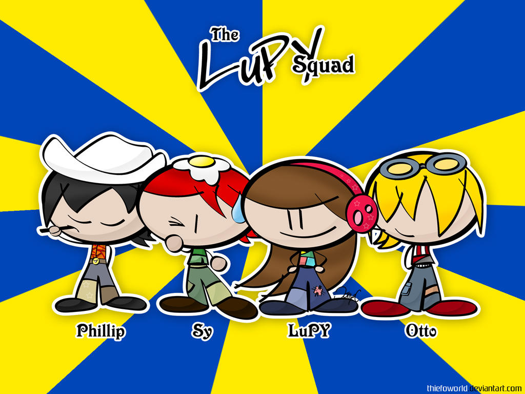 The LuPY Squad by Thiefoworld