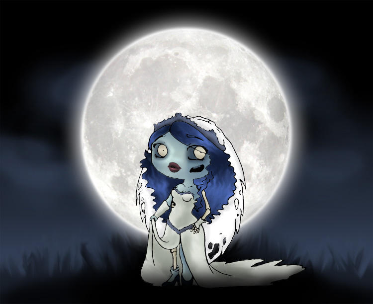 Chibi Corpse Bride by Thiefoworld