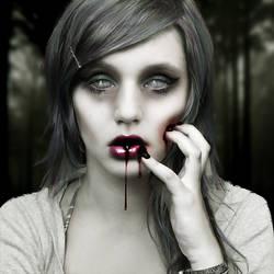 Grapestock Vampire by munchonu