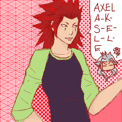 Axel A-K-S-E-L-L-E by Meash