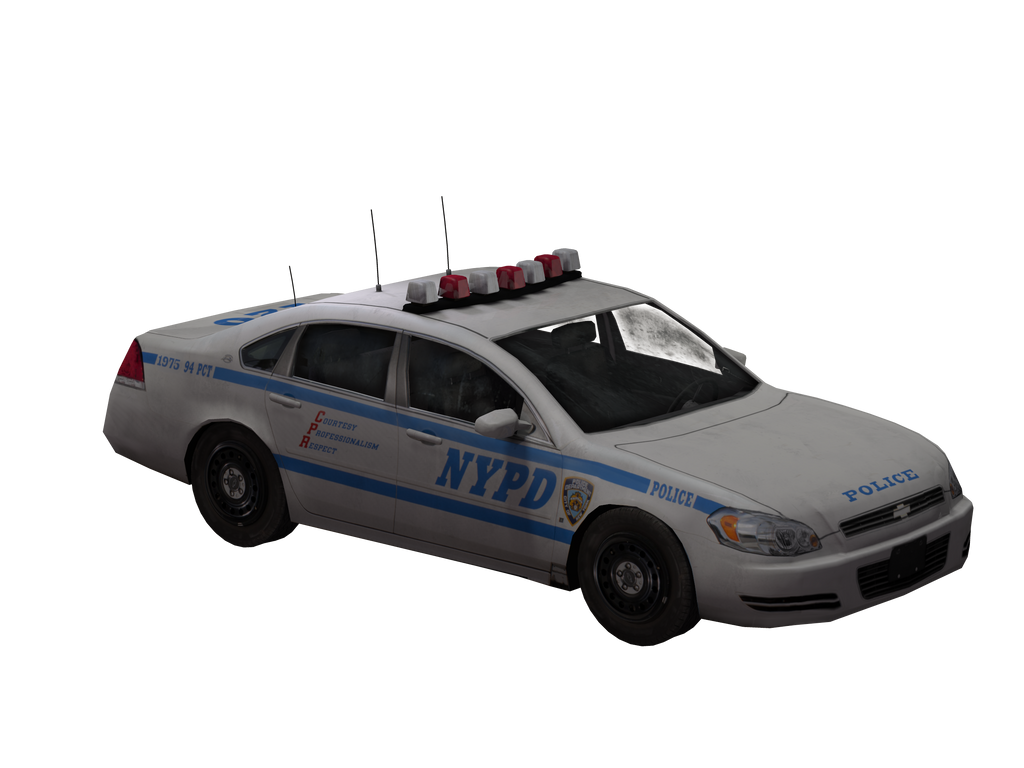 Police Car By Shades Of Rage On Deviantart