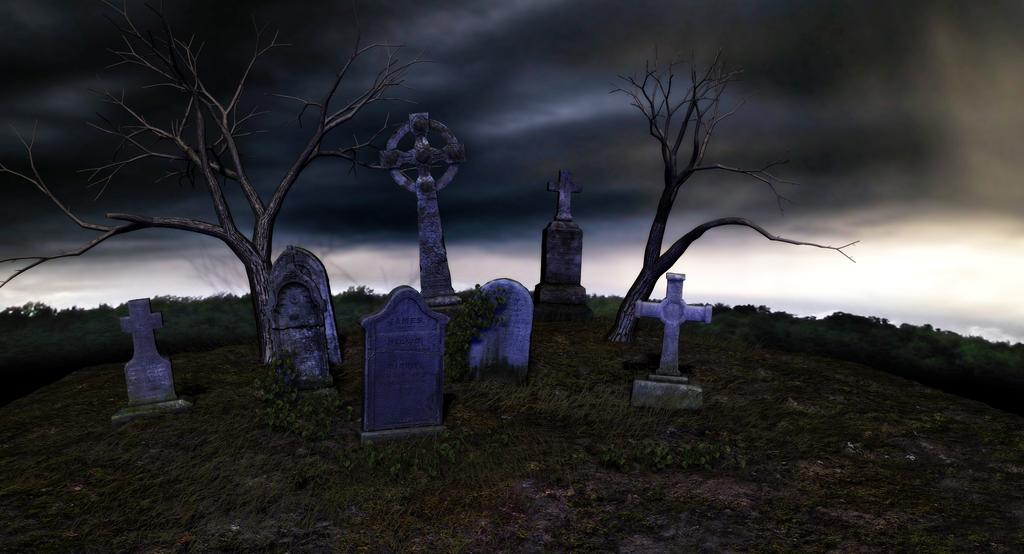Graveyard Background by Shades-Of-Rage on DeviantArt