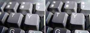 Keyboard STEREOSCOPIC PICS