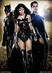 The Trinity - Dawn of Justice Fan Art