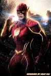 Ezra Miller as The Flash - Fan art