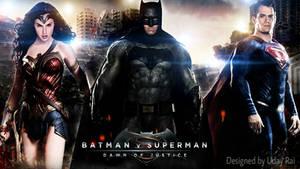 Batman v. Superman : Dawn Of Justice HD Wallpaper