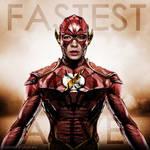 Fastest Man Alive - Ezra Miller The Flash fan art