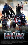 Team Captain America : Civil War fanmade Poster.