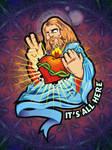 jesus by superchino