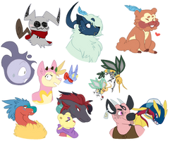 [COLLAB] Many Pokemons!