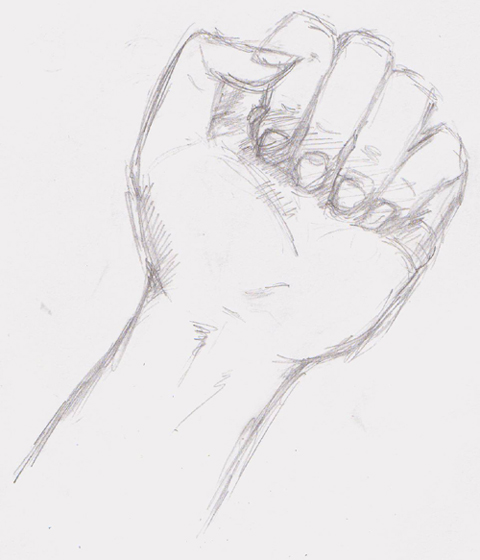 Handsketch. by j00liusCaesar