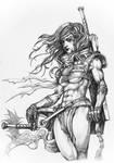 Diablo 3 - Barbarian concept