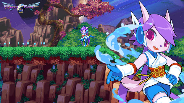 Freedom Planet 2 Simple Wallpapers - Lilac