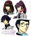 Persona 1 - P5 Style