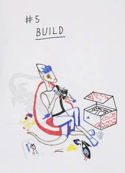 Inktober #5: Build