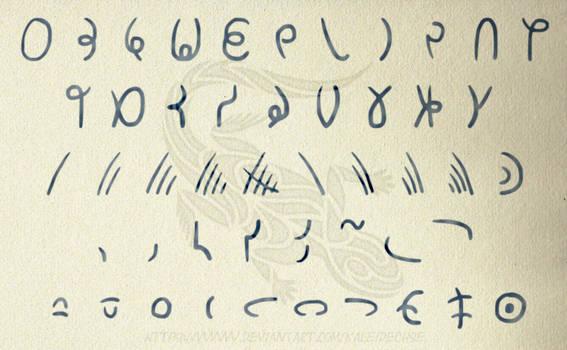Nimyric Writing