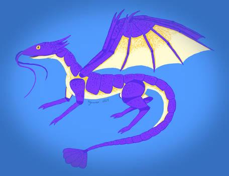 Concept Sketch - Shrimp Dragon
