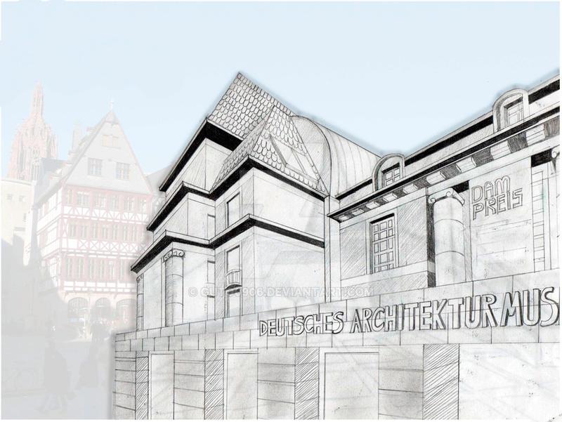 Deutsches architektur museum frankfurt by guto0906 on for Architektur frankfurt