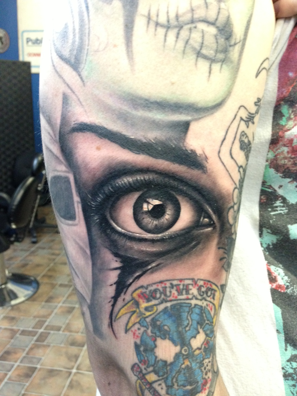 356f6f74f Eye tattoo by eris09 Eye tattoo by eris09