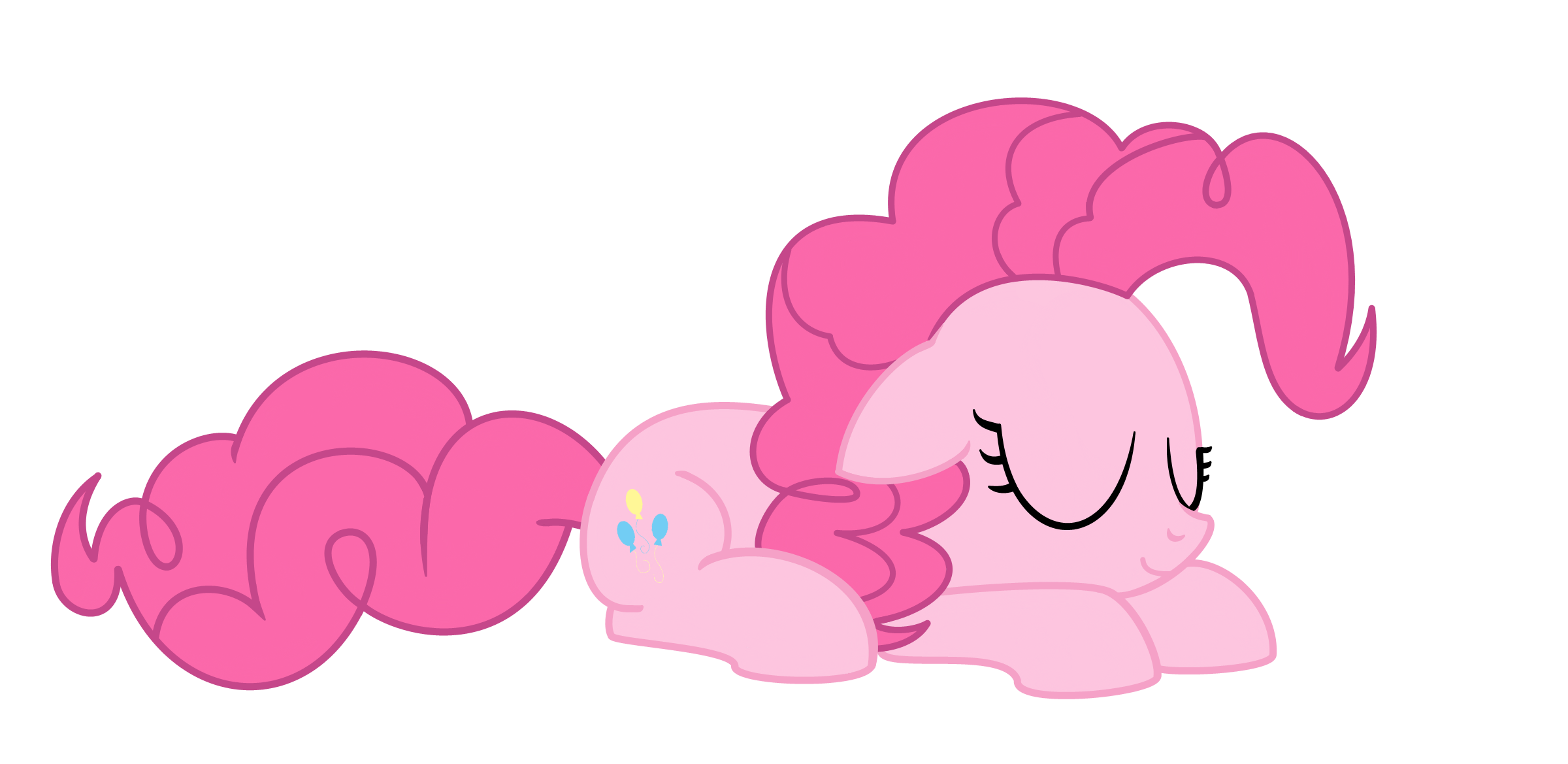 Sleepy Pinkie by MisterBrony