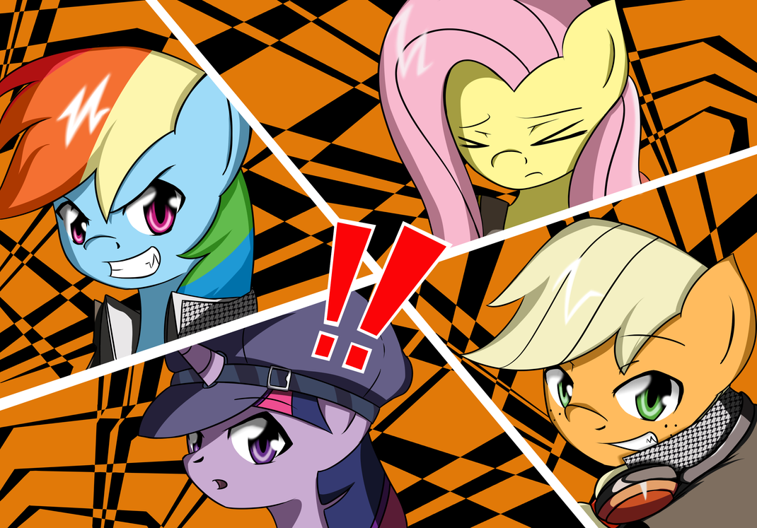Press X for an All Out Attack! by MisterBrony