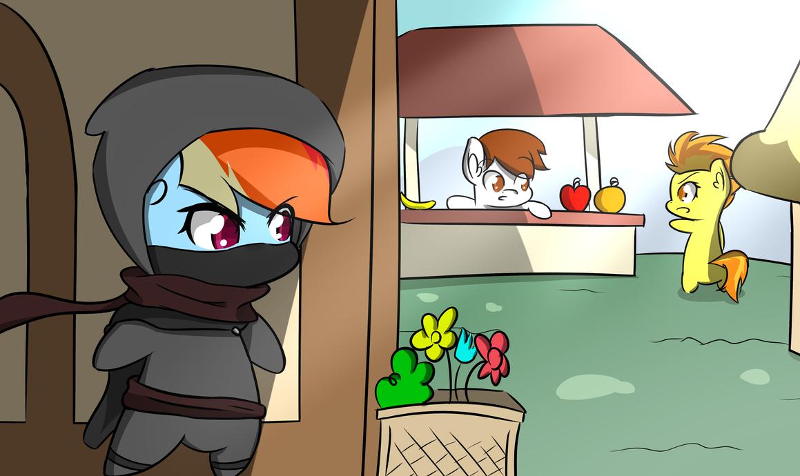 Ninja Dash by MisterBrony