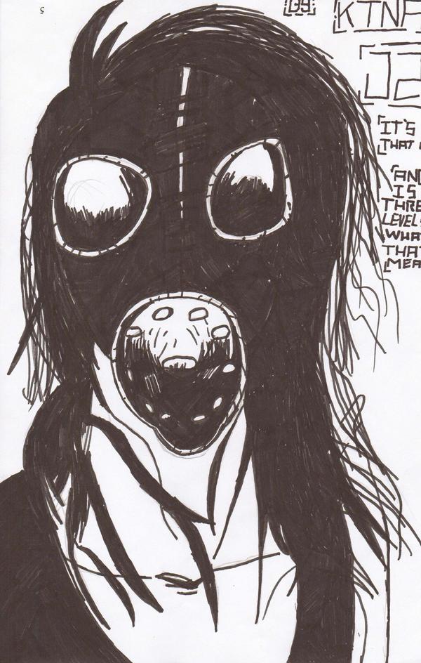 gas mask j2.5 by ktna