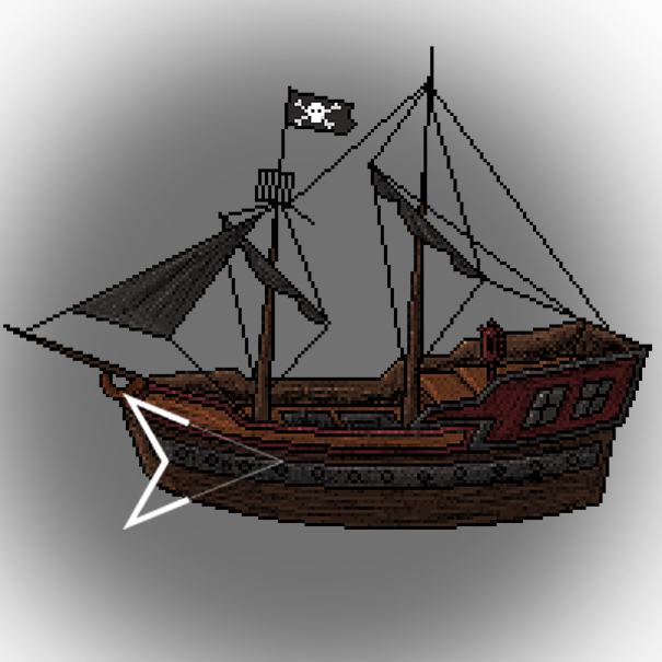 Pirate ship by Emperaptor