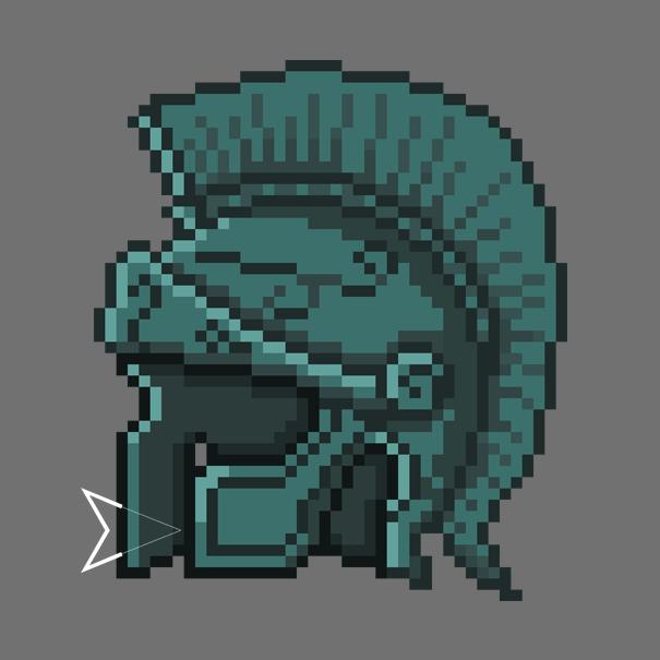 Greek helmet by Emperaptor