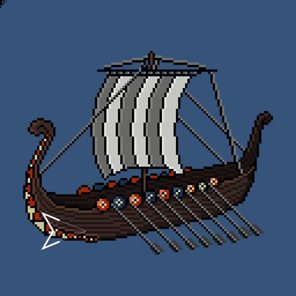 Viking ship by Emperaptor
