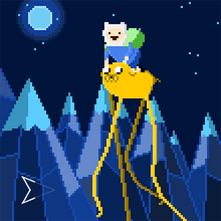 Finn and Jake by Emperaptor