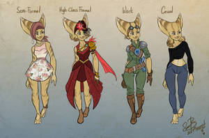 Outfits by Farorest