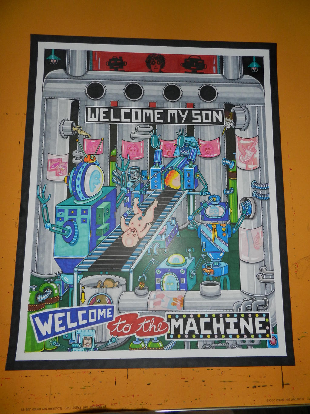 welcome my welcome to the machine